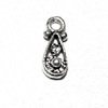 Lot of 5 Sterling Silver Charm Drop 10 mm 1 gram ID # 6348
