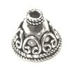 Sterling Silver Bead Cap Cone 12 mm 2.1 gram ID # 6113