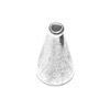 Sterling Silver Bead Cap Cone 15 mm 1.5 gram ID # 6862