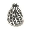 Sterling Silver Bead Cap Cone 12 mm 1.5 gram ID # 6120