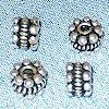 Lot of 2 925 Silver Tubular Bead Spacer 5 mm 1.2 gram ID # 2962