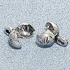 Sterling Silver Charm Knot Holder Crimps 8 mm 1.1 gram ID # 3025