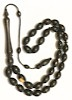 Islamic Prayer Beads Rare Wood Ebony Tasbih 12 mm ID # 6690 ID # 6690