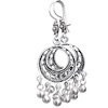 Full Sterling Silver Dangle Earrings 6 cm 9.5 gram ID # 5906