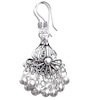 Full Sterling Silver Dangle Earrings 2 inch 8.5 gram ID # 5904