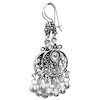 Full Sterling Silver Dangle Earrings 55 mm 8.5 gram ID # 5905