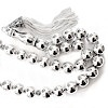 Full Sterling Silver Islamic Prayer Beads Tasbih 78 gram 38 cm ID # 6149