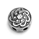 Sterling Silver Imame Bead for Tasbih 15 mm 4.2 gram ID # 6946
