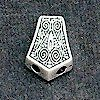 Sterling Silver Bead Imame 2 cm 5.5 gram ID # 4459