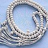 Turkish Pure Silver Mesh Islamic Prayer Beads 99 Tasbih 108 gram ID # 1852