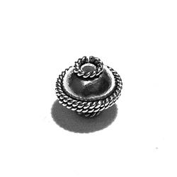 Sterling Silver Beads 8 mm 1.5 gram