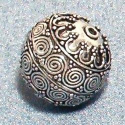 Sterling Silver Bead Ball 2 cm 8.6 gram