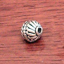 Sterling Silver Bead 8 mm 1.4 gram