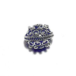 Sterling Silver Bead 10 mm 1.6 gram