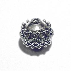 Sterling Silver Bead 13 mm 3 gram