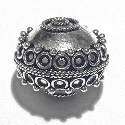 Sterling Silver Bead 20 mm 7.2 gram