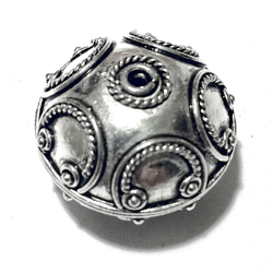 Sterling Silver Bead 20 mm 5.9 gram