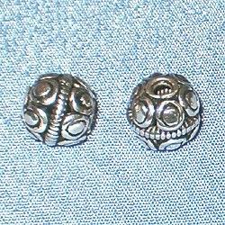 Sterling Silver Beads 7 mm 1.5 gram