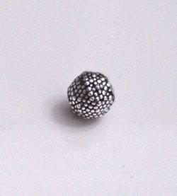 Sterling Silver Bead 7 mm 1.2 gram