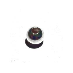 Sterling Silver Bead 4 mm 1 gram