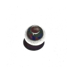 Sterling Silver Bead 5 mm 1 gram