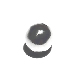 Sterling Silver Bead 7 mm 1 gram