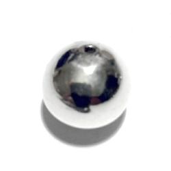 Sterling Silver Bead 15 mm 2.2 gram
