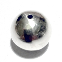 Sterling Silver Bead 20 mm 5 gram