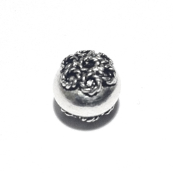 Sterling Silver Bead 9 mm 1 gram
