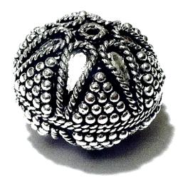 Sterling Silver Bead 20 mm 10 gram