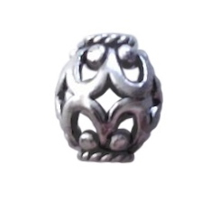 Sterling Silver Bead 10 mm 1 gram