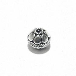 Sterling Silver Bead 8 mm 1.2 gram