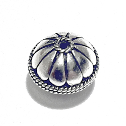 Sterling Silver Bead 13 mm 3.5 gram