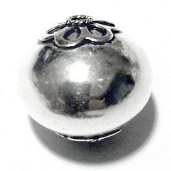 Sterling Silver Bead 18 mm 5 gram