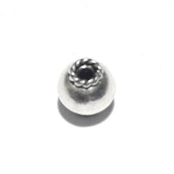 Sterling Silver Bead 6.5 mm 1 gram