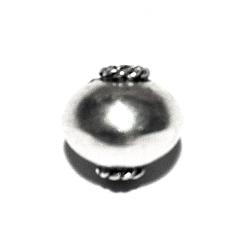 Sterling Silver Bead 9 mm 1.6 gram