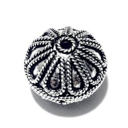 Sterling Silver Bead 13 mm 4.8 gram