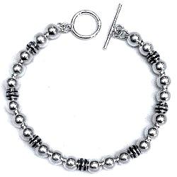 Full Sterling Silver Link Bracelet 17 gram