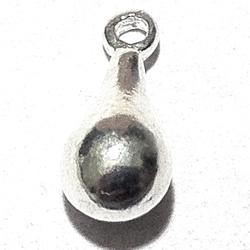 Sterling Silver Charm Drop 13 mm 1.3 gram