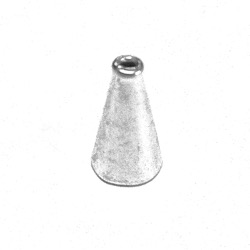 Sterling Silver Bead Cap Cone 10 mm 1 gram