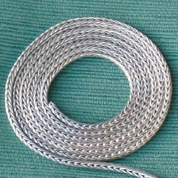 Turkish thick foxtail chain for bracelet 18 cm