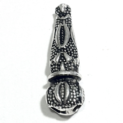 Sterling Silver Imame Bead for Tasbih 24 mm 2 gram