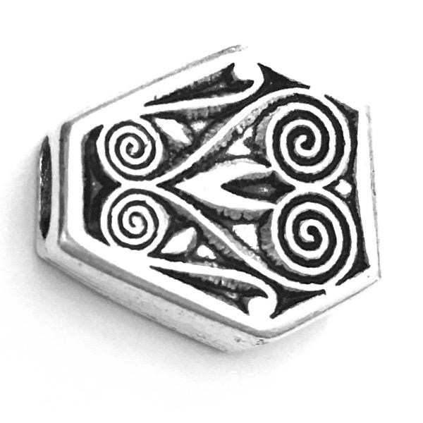 Sterling Silver Bead Imame 18 mm 5.5 gram