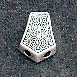 Sterling Silver Bead Imame 2 cm 5.5 gram