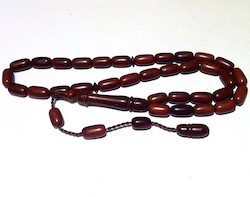 Kuka Coco De Mer Islamic Prayer Beads Tasbih Barrel shape