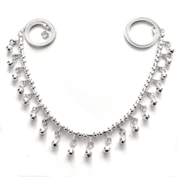 Full Sterling Silver Necklace 19.4 gram 50 cm