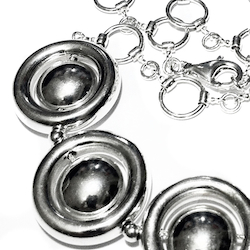 Sterling Silver Necklace 61 gram 20 inch