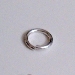 Sterling Silver Open Jump Ring 11 mm 1.2 gram