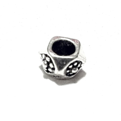 Sterling Silver Rondelle Beads Spacer 4x5 mm 1.2 gram