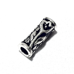 Sterling Silver Rondelle Beads Spacer 9x4 mm 1.2 gram